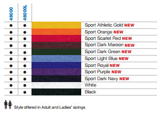 Shiny, snag resistant, wicking & antimicrobial colours