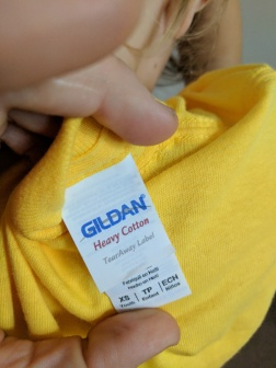 Kids Heavy-T shirt for 8 years and older!